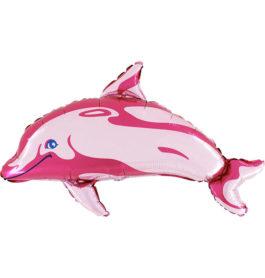 Delfin in pink