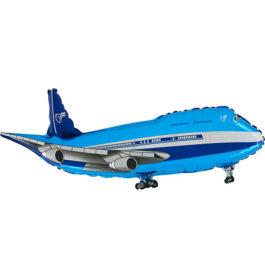 213BGR37 Flugzeug in blau