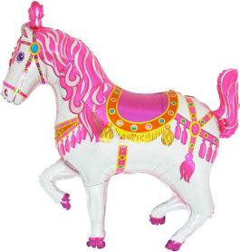 223PGR37 Zirkuspferd in pink