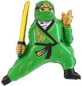 230GGR37 Ninja in grün