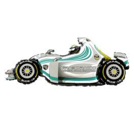 243GYGR37 schnelles Auto in silber