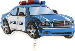 245BGR37 Police Auto in blau