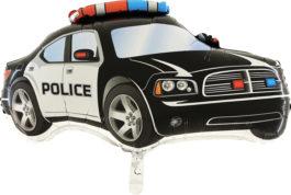 245SGR37 Police Auto schwarz