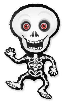 901792FX39 Skelett grau