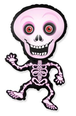 901792FFX39 Skelett pink