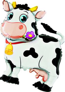 236GR37 Kuh mit Glöckchen