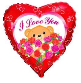 201673FX60 I Love You – Bär & Roses