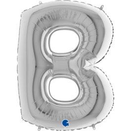 Buchstaben – B – silber