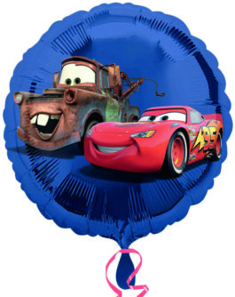 Cars in blau