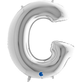 Buchstaben – G – silber
