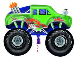 2738502AN23 Monster Truck in Grün