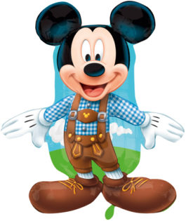 2738978AN22 Mickey Lederhose
