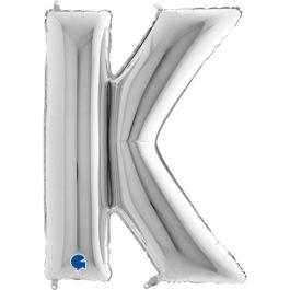 309SGR Buchstaben – K – silber