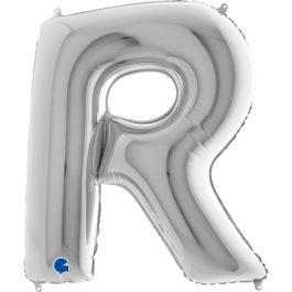 379SGR Buchstaben – R – silber