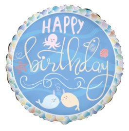 401594FX60 Happy Birthday –  Narwal & Freunde