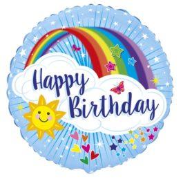 401596FX60 Happy Birthday – Regenbogen