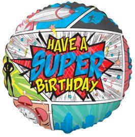 401597FX60 Happy Birthday – Comic