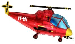 Helicopter – rot