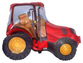 Traktor in rot