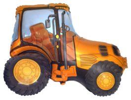 Traktor in gelb
