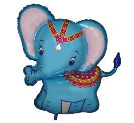 Baby Elefant blau