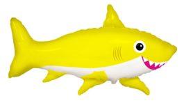 fröhliche Hai – gelb