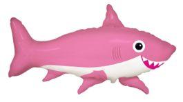 fröhliche Hai – rosa