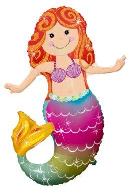 fröhliche Meerjungfrau