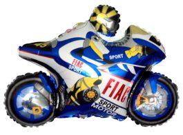 901666BFX38 Motorrad blau