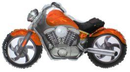 Custom Moto in orange