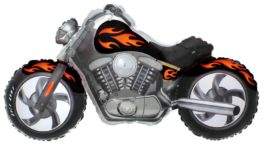 Custom Moto in schwarz