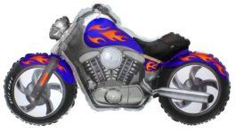 Custom Moto in blau