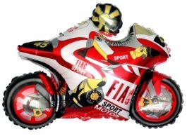 901666RGR38 Motorrad rot