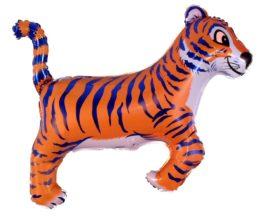 901643BFX38 Tiger mit blauen streifen