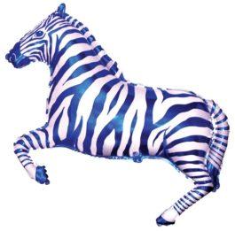901626BFX38 Zebra in blau