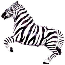 901626SFX38 Zebra in schwarz