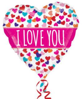 Herz – Farbexplosion Ich Liebe Dich