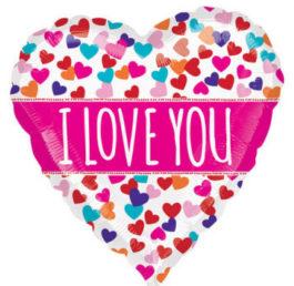 2990401S70AN Herz – Farbexplosion Ich Liebe Dich