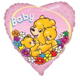201652FX60 Baby Bär rosa