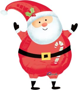 2026101AN fröhliche Santa