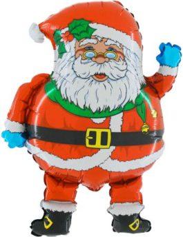 Santa mit Brille