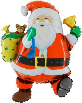 Santa mit Glöckchen