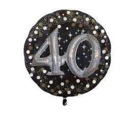 Funkelnder Geburtstag 3D – 40