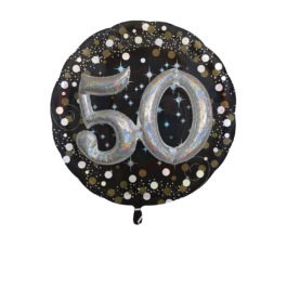 Funkelnder Geburtstag 3D – 50