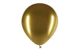 12″/45B01 Latexballons brilliant gold