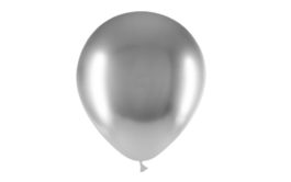 12″/45B02 Latexballons brilliant silber