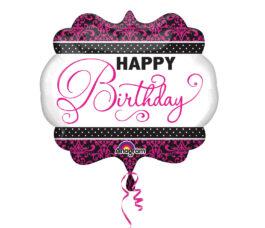 3093001ANP35 Happy Birthday – schwarz&pink