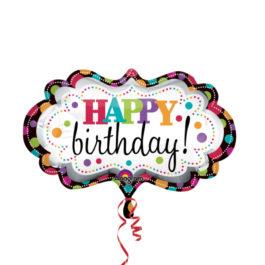 2447201P35 Happy Birthday –  Schild