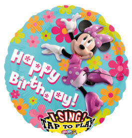 2349301ANP75 Happy Birthday –  Singender Minnie Maus
