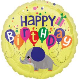 Happy Birthday – Elefant